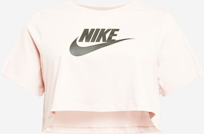 Nike Sportswear T-shirt en rose / noir, Vue avec produit