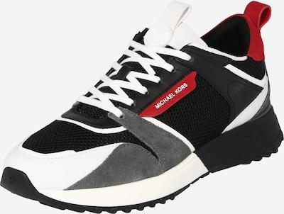 Sportbačiai be auliuko 'THEO' iš MICHAEL Michael Kors, spalva – pilka / raudona / juoda / balta, Prekių apžvalga