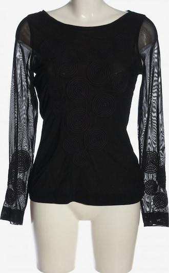 claudia sträter Langarm-Bluse in M in schwarz, Produktansicht