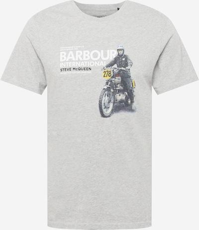 Barbour International Shirt 'Steve' in blau / gelb / grau / schwarz / weiß, Produktansicht
