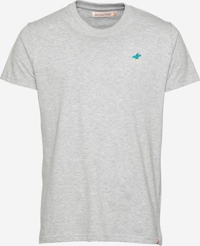 Revolution Shirt in Beige / Turquoise / Grey mottled / Petrol, Item view