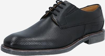 bugatti Čevlji na vezalke 'Mattia ExKo' | črna barva, Prikaz izdelka