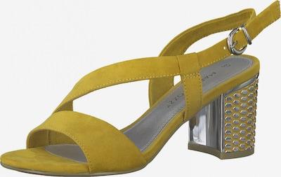 Sandale MARCO TOZZI pe șofran, Vizualizare produs