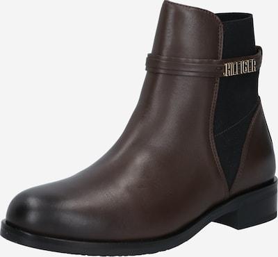 TOMMY HILFIGER Støvletter i brun, Produktvisning