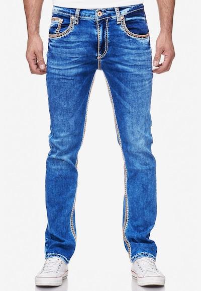 Rusty Neal Jeans 'LEVIN 1' in blau, Modelansicht