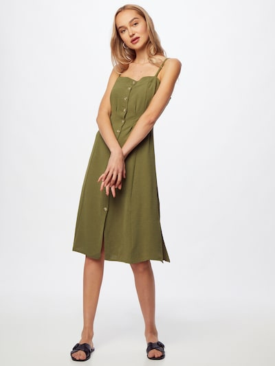 Rochie tip bluză Trendyol pe kaki, Vizualizare model
