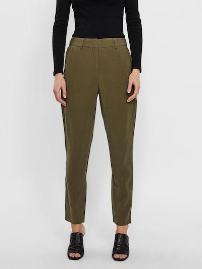 VERO MODA Chino kalhoty 'Scarlett' - olivová, Model/ka