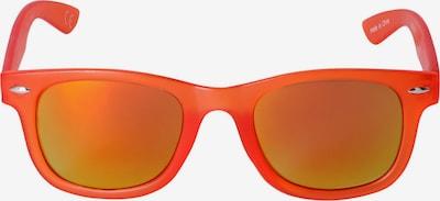 Six Lunettes de soleil en vert / orange, Vue avec produit