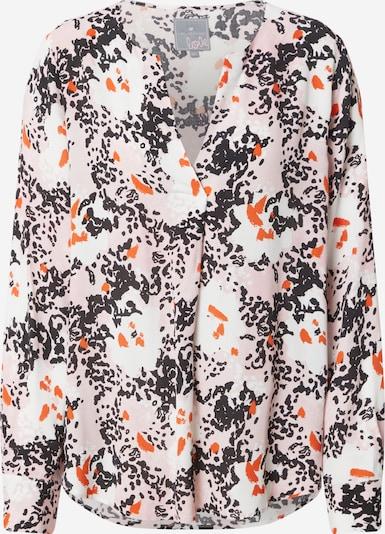 LIEBLINGSSTÜCK Bluse 'Ravina' in orange / rosa / schwarz / weiß, Produktansicht
