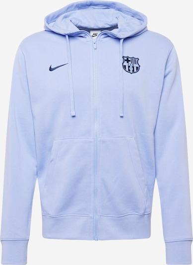 NIKE Sportssweatjakke 'FC Barcelona' i navy / lavendel, Produktvisning