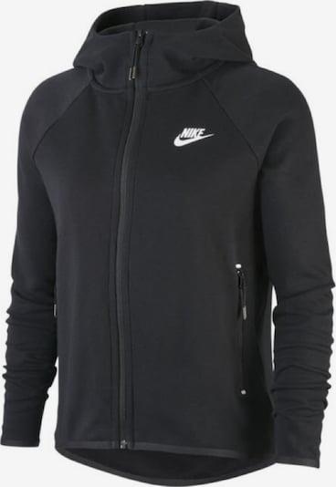 NIKE Sportjacke 'TECH PACK-LOOK' in schwarz / weiß, Produktansicht