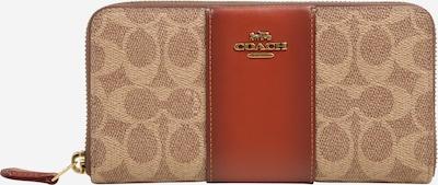 COACH Denarnica | nude / rjasto rdeča barva, Prikaz izdelka