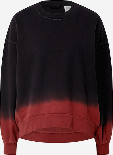 LEVI'S Sweatshirt 'PAI' in Dark red / Black, Item view