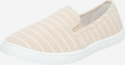 rubi Slipper 'HOLLY' in beige / weiß, Produktansicht