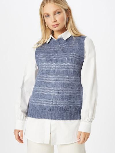 Fransa Pullover 'BEAUTUMN 3' in taubenblau, Modelansicht