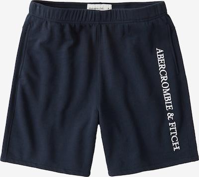 Abercrombie & Fitch Hlače | mornarska barva, Prikaz izdelka