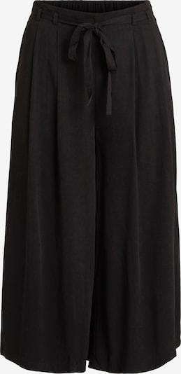 VILA Hlače z naborki 'Vero' | črna barva, Prikaz izdelka