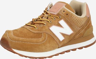 new balance Sneaker '574' in hellbraun / rosa / weiß, Produktansicht