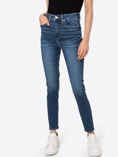 American Eagle Jeggings in de kleur Blauw denim, Modelweergave