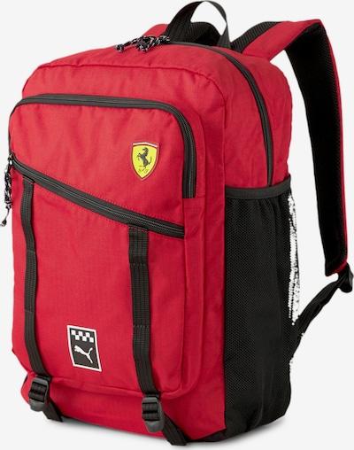 PUMA Rugzak 'Scuderia Ferrari' in de kleur Geel / Rood / Zwart, Productweergave