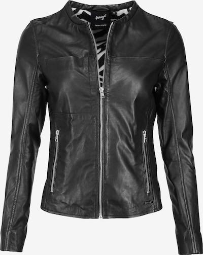 Maze Lederjacke in schwarz, Produktansicht