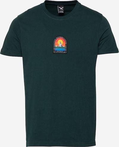 Iriedaily Тениска 'Stonefinger' в тъмнозелено, Преглед на продукта