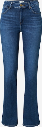 Jeans WRANGLER pe albastru, Vizualizare produs
