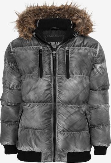 Urban Classics Winterjas in de kleur Grijs gemêleerd, Productweergave