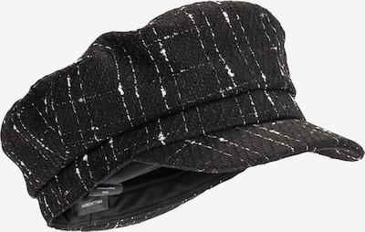 HALLHUBER Schirmmütze aus Bouclé in schwarz, Produktansicht