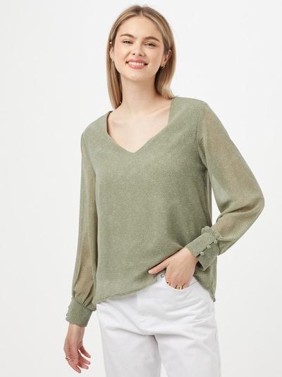Hailys Bluse 'Naomi' in khaki, Modelansicht