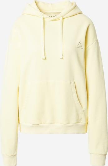 NU-IN Sweatshirt 'Chroma' in Pastel yellow / Black, Item view