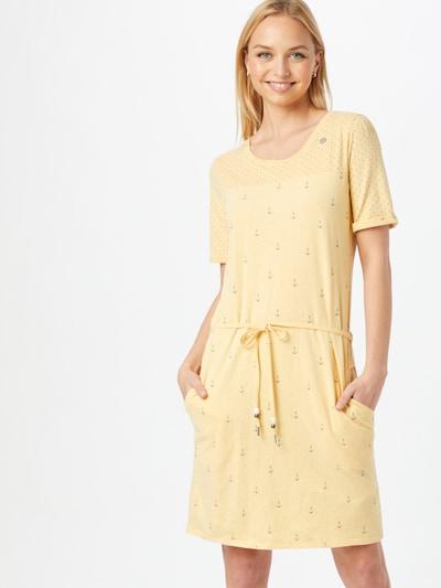Rochie de vară 'NUGGIE' Ragwear pe galben, Vizualizare model