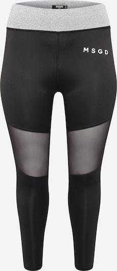 Leggings Missguided Plus di colore grigio sfumato / nero / bianco, Visualizzazione prodotti