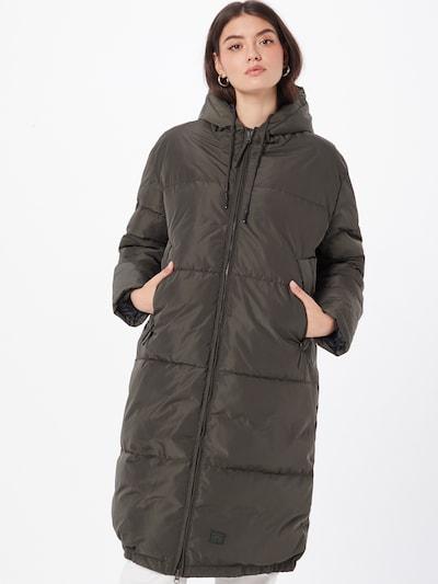 Brixtol Textiles Mantel 'Rhymes Pet' in oliv, Modelansicht