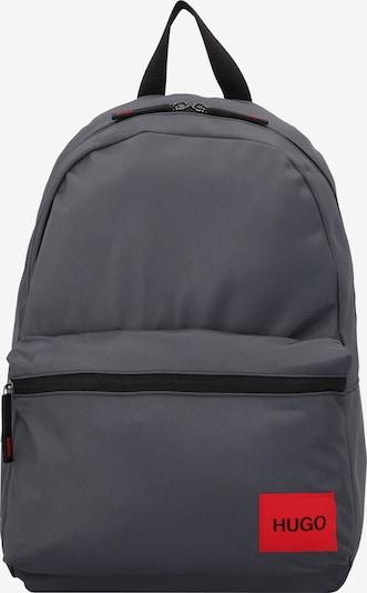 HUGO Sac à dos 'Ethon' en gris foncé, Vue avec produit