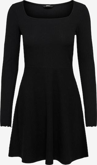 Rochie tricotat 'Nella' ONLY pe negru, Vizualizare produs