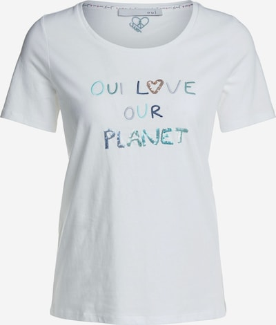 OUI T-Shirt in weiß, Produktansicht