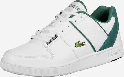 LACOSTE Schuhe ' Thrill 120 ' in dunkelgrün / weiß: Frontalansicht