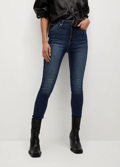 MANGO Jeans 'Soho' in blue denim, Modelansicht