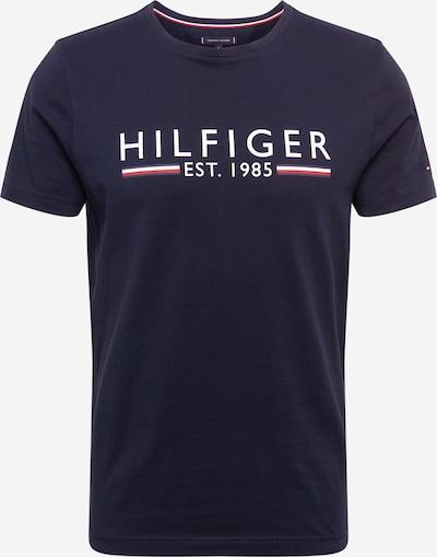 sötétkék / piros / fehér TOMMY HILFIGER Póló: Elölnézet