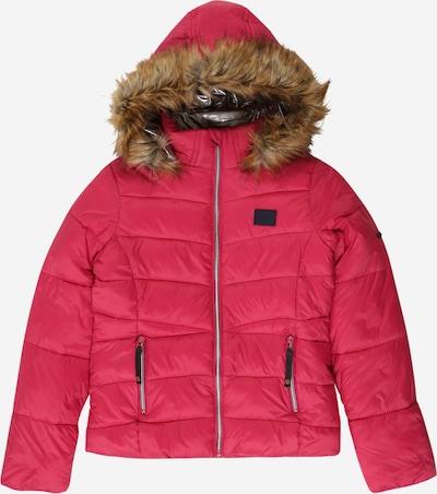 Petrol Industries Winterjas in de kleur Bruin / Pink, Productweergave