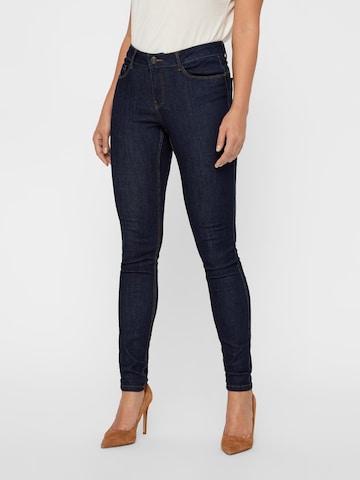 VERO MODA Jeans 'Seven' in Blauw