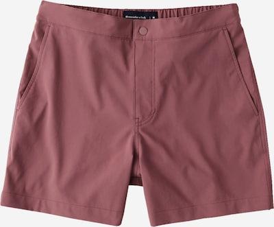 Pantaloncini da bagno Abercrombie & Fitch di colore rosso pastello, Visualizzazione prodotti