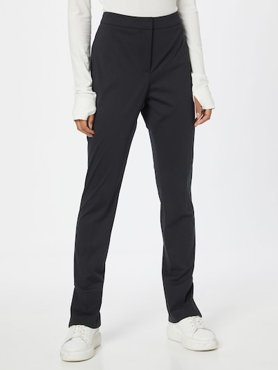 HUGO Hose 'Harula' in schwarz, Modelansicht