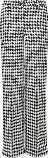 Madam-T Stoffhose 'ROZALIA' in schwarz / weiß, Produktansicht