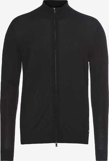 ROY ROBSON Strickjacke in marine / schwarz, Produktansicht