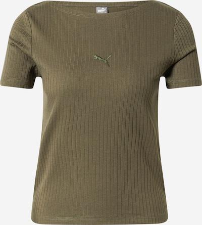 PUMA T-shirt fonctionnel en kaki, Vue avec produit