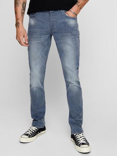 Only & Sons Vaquero 'onsLOOM' en azul denim, Vista del modelo