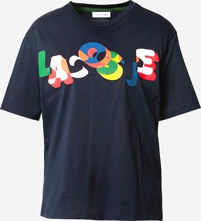 LACOSTE Tričko - námornícka modrá / zmiešané farby, Produkt