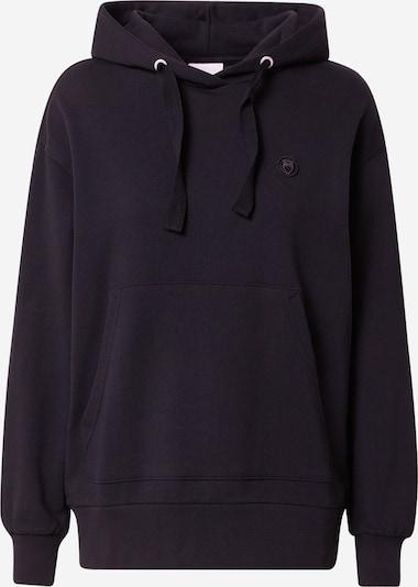 KnowledgeCotton Apparel Sweatshirt 'DAPHNE' in schwarz, Produktansicht